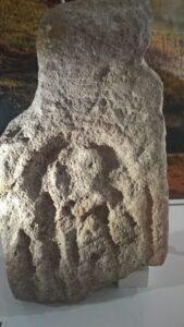 Roman altar stone of the god Mars found at Cadbury Camp Tickenham 169x300 1