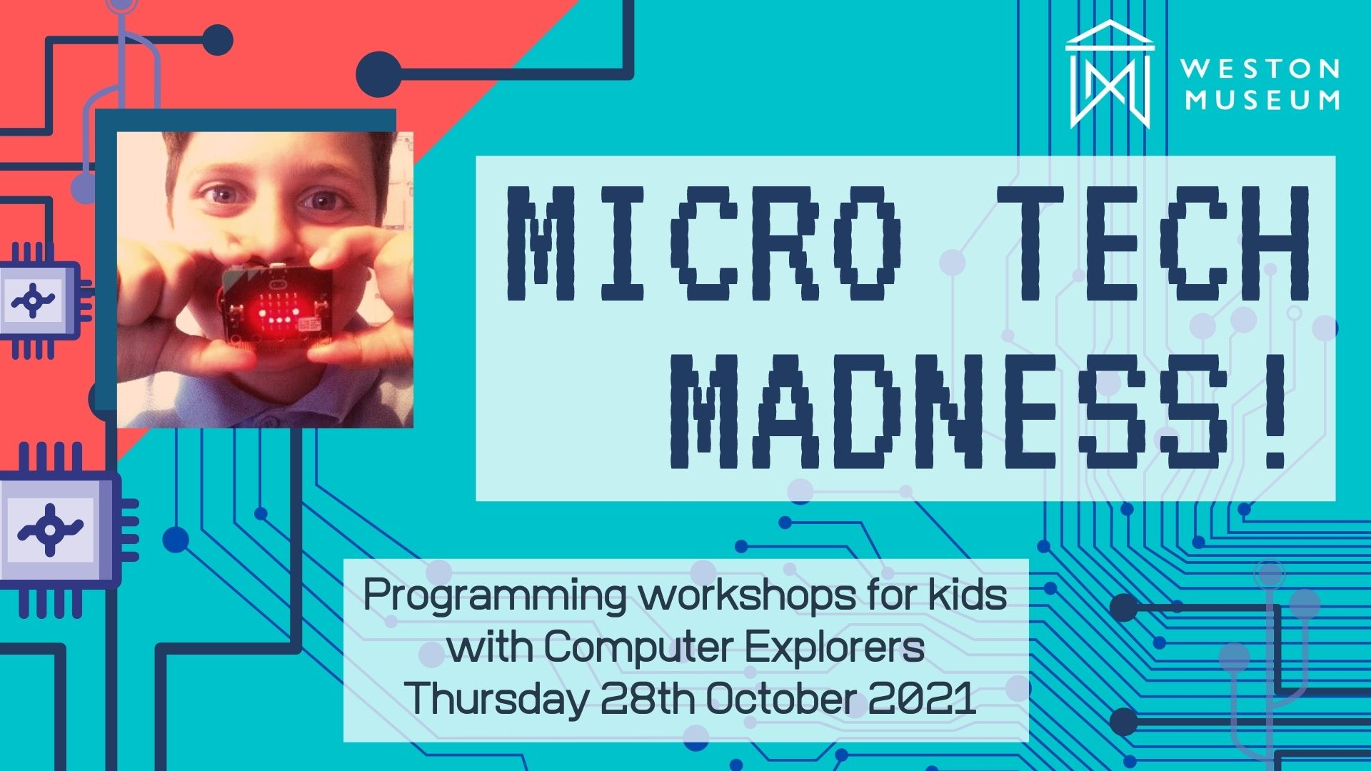 Event cover for micro tech madness