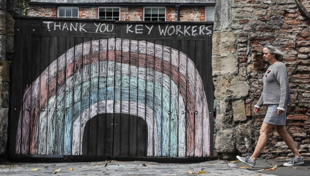 Thanking Key Workers