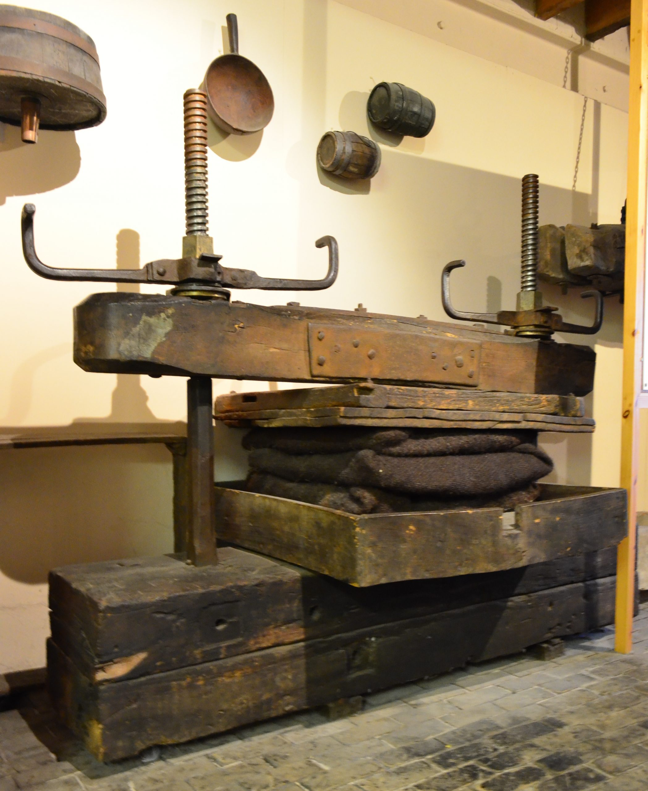 Screw press from North Somerset Collections