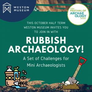 rubbish archaeology week advert