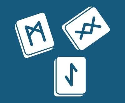 Saxon and Viking Games and Runes