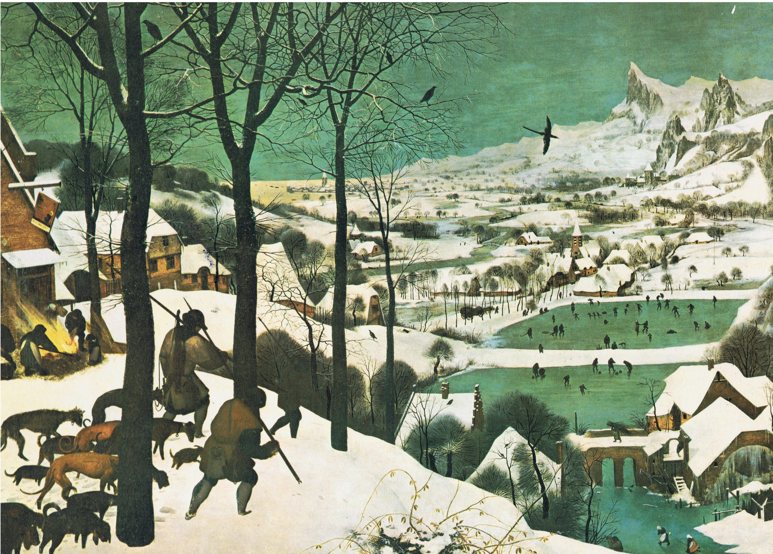 The Hunters in the Snow, by Pieter Bruegel the Elder