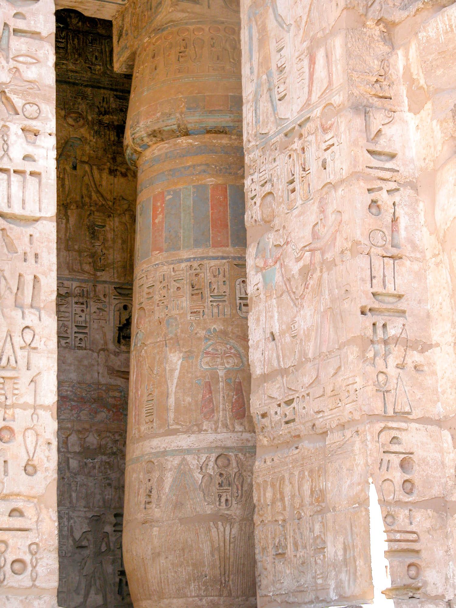 Mortuary Temple of Rameses III at Medinet Habu