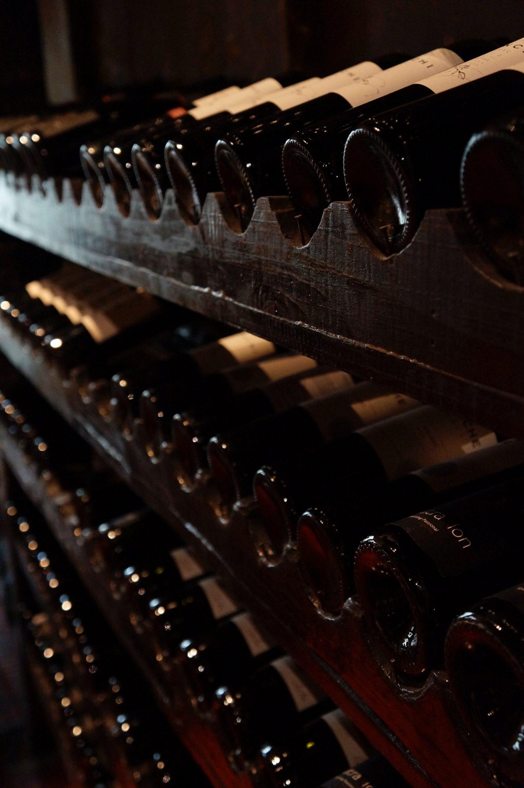 Cellar with Wine Bottle (image courtesy of Bruno Cantuaria)