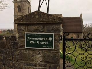 Kewstoke Church War Graves Sign
