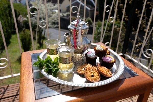 Moroccan Mint Tea with Nibbles