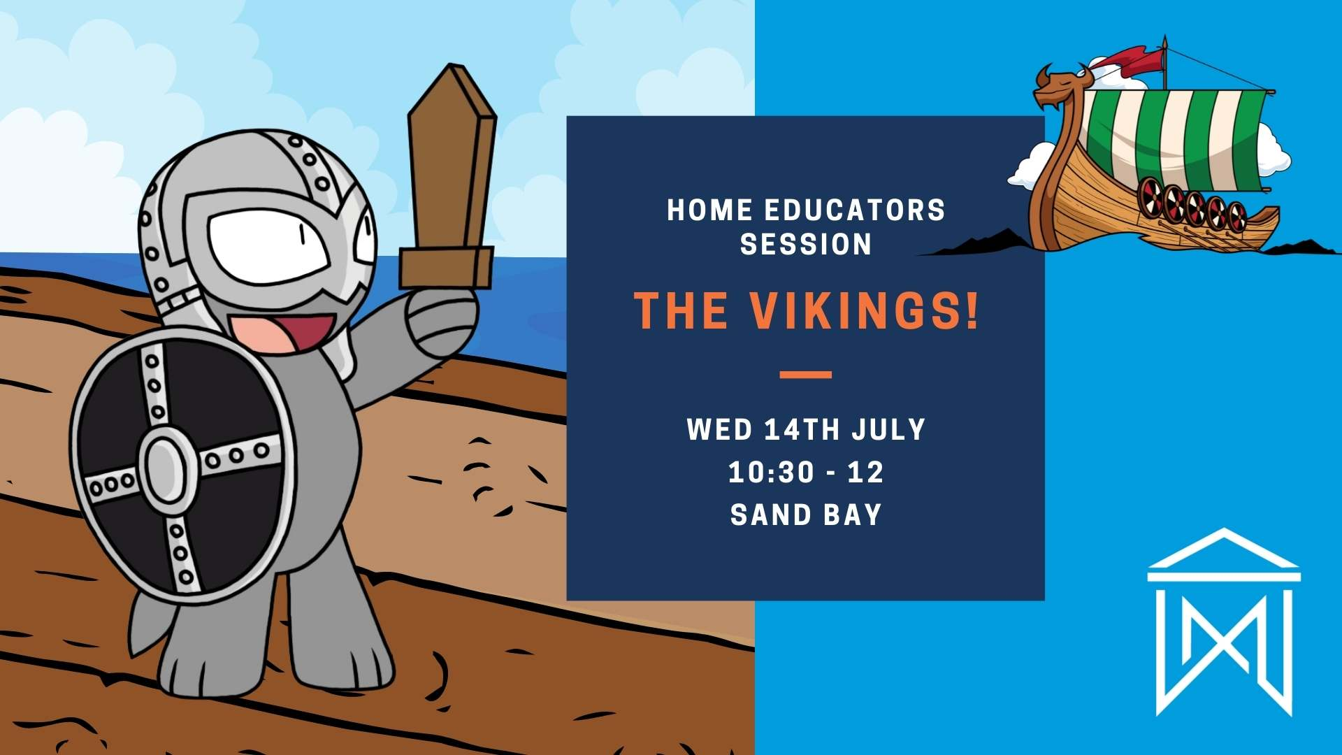 Rusty the Dog Viking Event poster