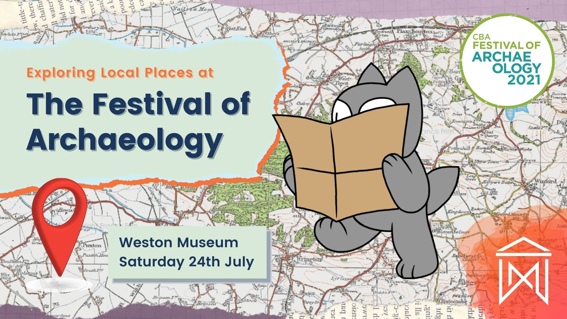 The Festival of Archaeology event poster