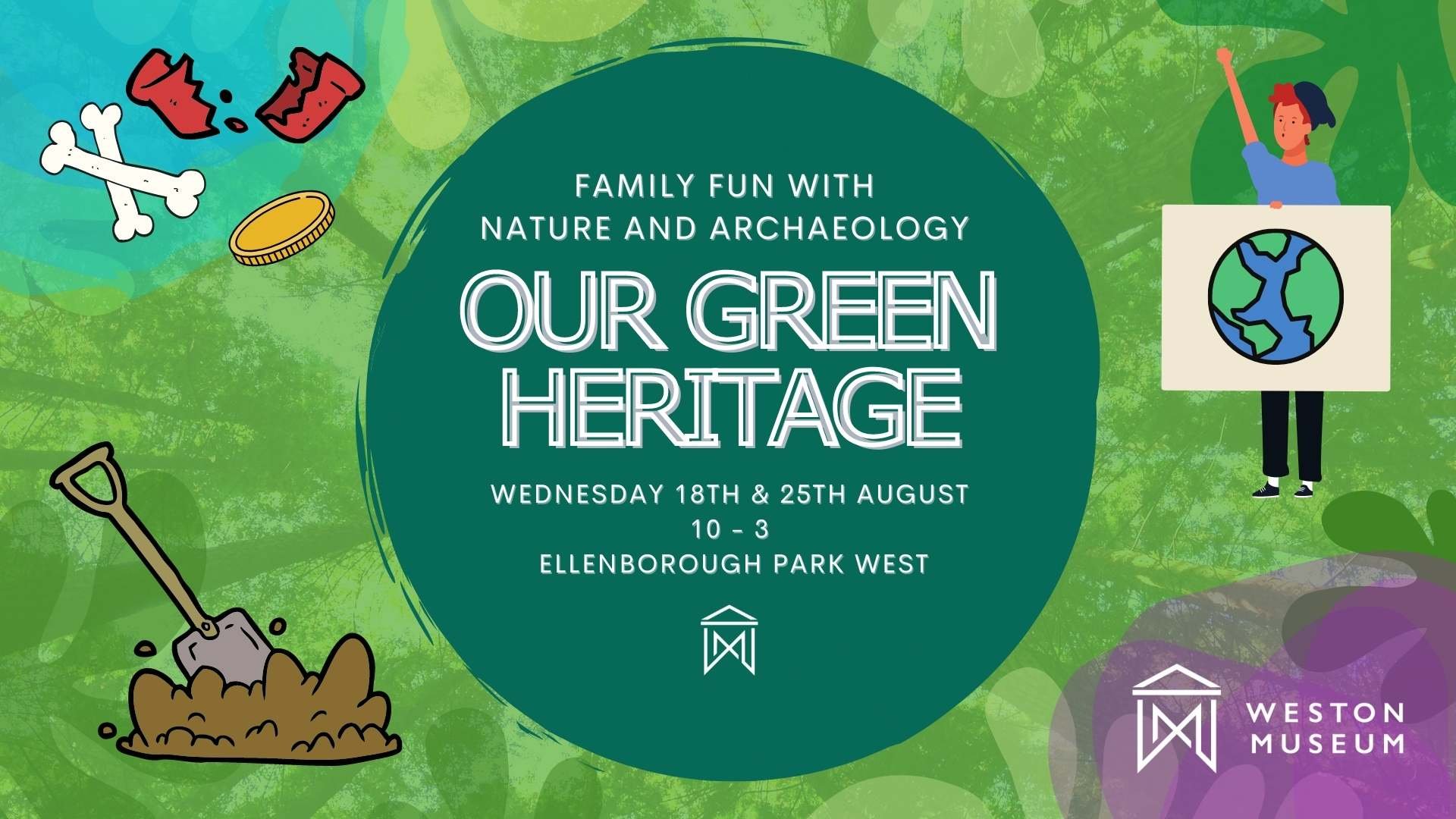 our green heritage families poster